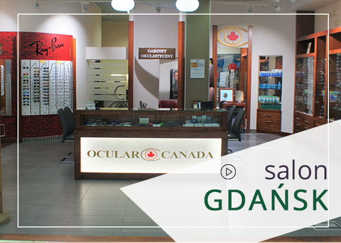 Po badanie wzroku i soczewki kontaktowe oraz okulary najlepiej w mieście Gdańsk wybrać się do salonu Ocular Canada.