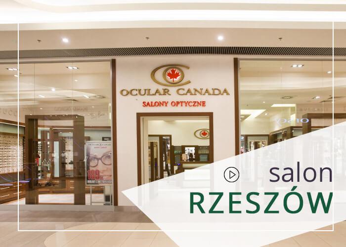 Okulista w mieście Rzeszów z salonu Ocular Canada pomoże w dobrać soczewki, okulary oraz wykona badanie wzroku.